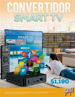 Ofertas de Smart tv  en el folleto de Steren en Guadalajara