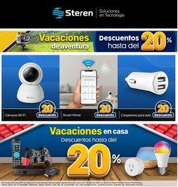 Ofertas de Electrónica y Tecnología en el catálogo de Steren en Hermosillo ( Caduca hoy )