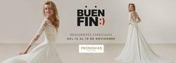 Ofertas de Bodas  en el folleto de Pronovias en Cuajimalpa de Morelos