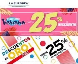 Catálogo La Europea ( 3 días más)