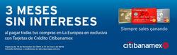 Ofertas de La Europea  en el folleto de López Mateos