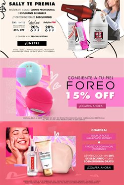 Ofertas de Perfumerías y Belleza en el catálogo de Sally Beauty en León ( Vence mañana )