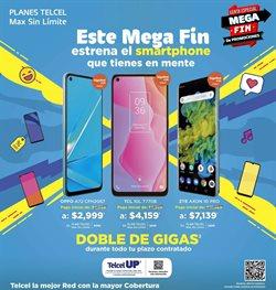 Ofertas de Electrónica y Tecnología en el catálogo de Telcel en Monterrey ( Publicado ayer )