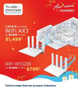 Ofertas de Wifi en Telcel