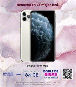 Ofertas de IPhone 11 pro en Telcel