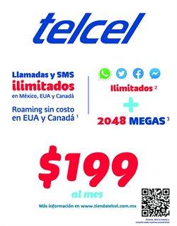 Ofertas de Electrónica y Tecnología en el catálogo de Telcel en Culiacán Rosales ( Publicado ayer )