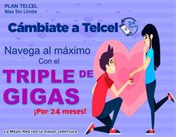 Ofertas de Electrónica y Tecnología en el catálogo de Telcel en Hidalgo del Parral ( 5 días más )