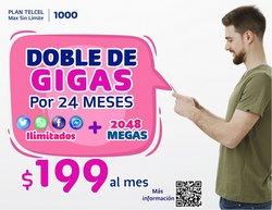 Ofertas de Electrónica y Tecnología en el catálogo de Telcel ( 4 días más )
