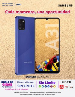 Ofertas de Electrónica y Tecnología en el catálogo de Telcel en Zacatecas ( Caduca hoy )