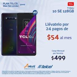Ofertas de Telcel en el catálogo de Telcel ( 3 días más)