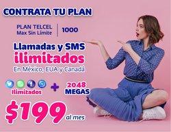 Ofertas de Electrónica y Tecnología en el catálogo de Telcel ( 7 días más)