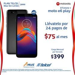 Ofertas de Electrónica y Tecnología en el catálogo de Telcel ( 17 días más)
