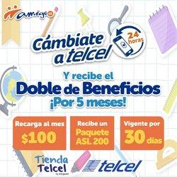 Ofertas de Electrónica y Tecnología en el catálogo de Telcel ( Vence mañana)
