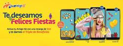 Ofertas de Telcel  en el folleto de Salina Cruz
