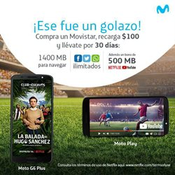 Ofertas de Movistar  en el folleto de Puebla