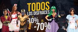 Cupón Disfraces de Peli en Acapulco de Juárez ( 2 días más )