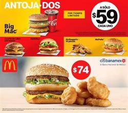 Ofertas de Restaurantes en el catálogo de McDonald's en Gustavo A Madero ( 3 días publicado )