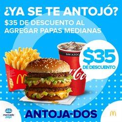 Ofertas de Restaurantes en el catálogo de McDonald's en Zapopan ( Publicado ayer )