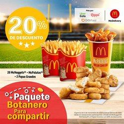 Ofertas de Restaurantes en el catálogo de McDonald's en Cuauhtémoc (CDMX) ( 2 días publicado )