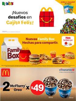 Ofertas de Restaurantes en el catálogo de McDonald's en Monterrey ( Vence mañana )