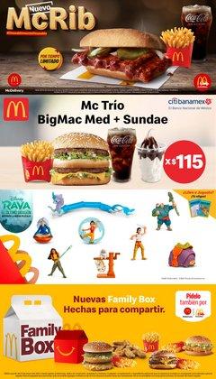 Ofertas de Restaurantes en el catálogo de McDonald's en Guadalupe (Nuevo León) ( 2 días publicado )