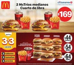 Ofertas de Restaurantes en el catálogo de McDonald's ( Vence hoy)