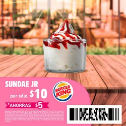 Ofertas de Burger King  en el folleto de Jiutepec