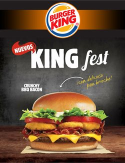 Ofertas de Burger King  en el folleto de Mérida