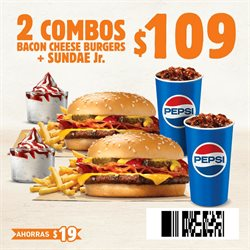 Ofertas de Burger King  en el folleto de Guadalajara