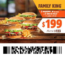 Ofertas de Restaurantes en el catálogo de Burger King en Gustavo A Madero ( 4 días más )