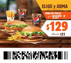Ofertas de Queso en Burger King