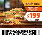 Ofertas de Restaurantes en el catálogo de Burger King en Culiacán Rosales ( Publicado ayer )