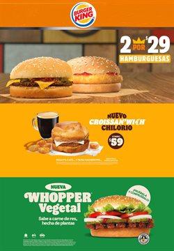 Catálogo Burger King ( 2 días publicado )