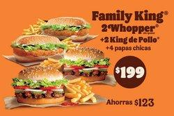Ofertas de Restaurantes en el catálogo de Burger King en Miguel Hidalgo ( 20 días más )