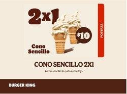 Catálogo Burger King ( 18 días más)