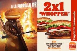 Ofertas de Restaurantes en el catálogo de Burger King ( 4 días más)