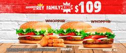 Ofertas de Plaza Tahona  en el folleto de Burger King en Zacatecas