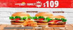 Ofertas de Burger King  en el folleto de Iztapalapa