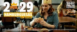 Cupón Burger King en Guadalajara ( Más de un mes )