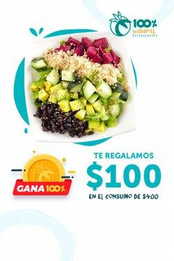 Ofertas de Restaurantes en el catálogo de 100% Natural ( 10 días más)