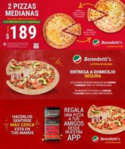 Ofertas de Restaurantes en el catálogo de Benedettis en Ciudad de México ( Publicado ayer )