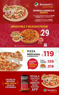 Ofertas de Restaurantes en el catálogo de Benedettis en Santiago de Querétaro ( Vence mañana )