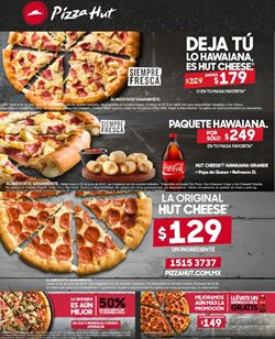 Ofertas de Pizza Hut  en el folleto de Iztapalapa