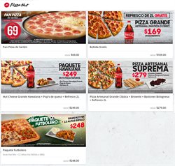 Ofertas de Pizza Hut  en el folleto de Monterrey