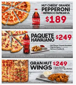 Ofertas de Pizza Hut  en el folleto de Guadalajara