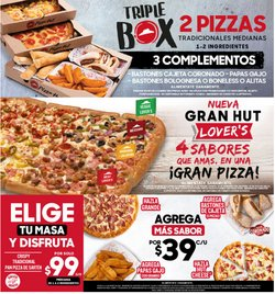 Ofertas de Restaurantes en el catálogo de Pizza Hut en Miguel Hidalgo ( 20 días más )