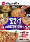Catálogo Pizza Hut ( 2 días más )