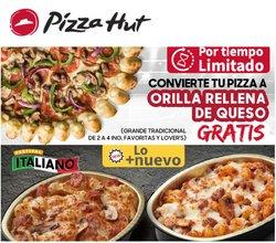 Ofertas de Restaurantes en el catálogo de Pizza Hut ( Publicado hoy)