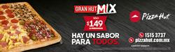 Ofertas de Pizza Hut  en el folleto de Ciudad de México