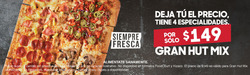 Ofertas de Pizza Hut  en el folleto de Saltillo
